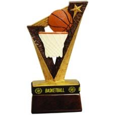 "6 1/2"" Basketball Trophybands Resin"